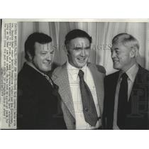 1973 Press Photo Chuck Knox-Los Angeles Rams' New Head Coach With Club Owner