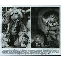 1983 Press Photo 'FRAGGLE ROCK' Premier on HBO Announcement - mja58140