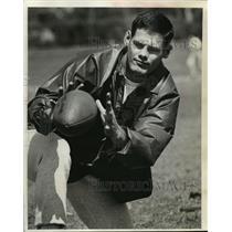 1971 Press Photo Quarterback Scott Hunter of the Green Bay Packers - mja56168