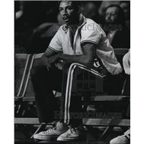 1973 Press Photo Larry McNeill, Kansas City-Omaha Kings Rookie Player
