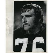1977 Press Photo Mike McCoy Traded to Oakland - mja56767