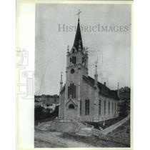 1908 Press Photo The Church of Saint Anne Michigan - mja55603