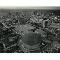 1984 Press Photo Skyline of San Antonio  - mja61226