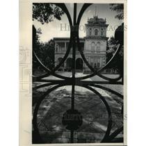 1984 Press Photo Restored mansion in San Antonio, Texas - mja61717