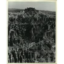 1980 Press Photo Clusters of Rocky Spires of Bryce Canyon - mja62758