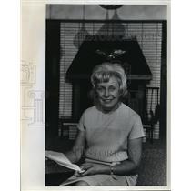 1968 Press Photo Mrs. Muriel Humphrey Prepared For Son's Wedding in Minneapolis