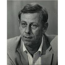 1984 Press Photo Milwaukee Detective Eugene Brown - mja61752