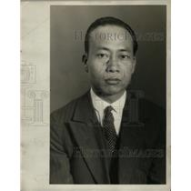 1929 Press Photo Chinese Y. Ee M. Poy - neo04619