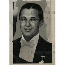 1935 Press Photo Captain Ulrich von Sosnosky, Polish Spy - neo04667