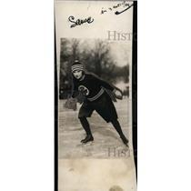 1923 Press Photo Gladys Robinson, Ice Skater - neo02799