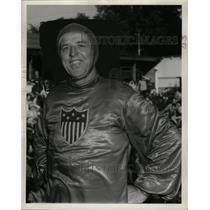 1944 Press Photo Peejay Ringens, Thrill Circus Daredevil - neo04555