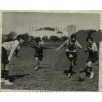 1929 Press Photo Harriett Fret, Virgina Carter, Virginia Yarborough, Mary Noyes
