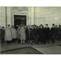 1921 Press Photo Italian delegates to the Conference on Limitation of Armaments