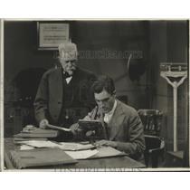 1916 Press Photo Michael P Evans and Son William M Evans in Scene of The Breaker