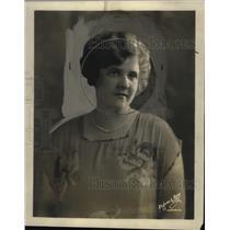 1927 Press Photo LaVou Rall, Announcer KFRU Radio - neo03262