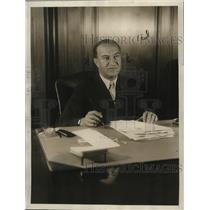 1927 Press Photo Nick Schenck, film studio executive and businessman - neo06954