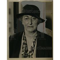 1938 Press Photo Mary Dewson, President Communist League of New York - neo02527