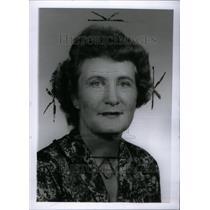 1966 Press Photo Mrs. J. A. Mulleu, wife Bus. Exex. - RRU26803