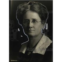 1921 Press Photo Florence King, Only Female U.S. Patent Attorney - neo04892