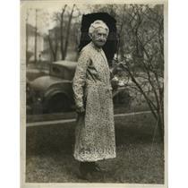 1930 Press Photo Etta Howe Hart of Minneapolis, Minnesota - neo06507