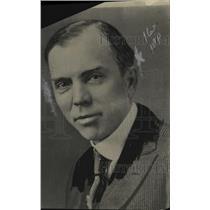 1920 Press Photo CW Williams, Treasurer & Adv. Manager of Wharton Motor Co.