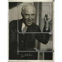 1928 Press Photo M. J. Tobin, Iowa Farmer leader - neo06881