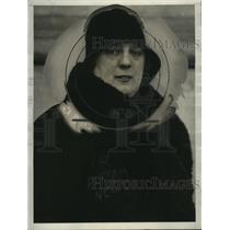 1930 Press Photo Louise Gross of Woman's Federation Union, Opposing Prohibition