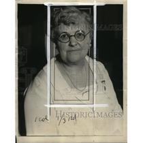 1927 Press Photo Mrs. Ella Turner, grand secretary of G.I.A. and B of L.E.