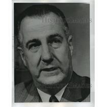 1968 Press Photo Governor Spiro T. Agnew - noa12775