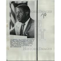 1968 Press Photo Reverend Ralph David Abernathy Hope Hubert Humphrey Resigns