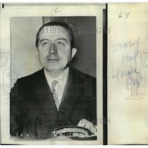 1970 Press Photo Giulio Andreotti-Premier designate succumbs new Italian Govt