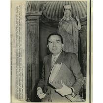 1970 Press Photo New government-Italy's Premier designate Giulio Andreotti