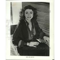 1984 Press Photo Fashion Designer- Mary Ann Restivo  - spa44927