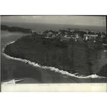 Press Photo Ile Royale, seat of French Guiana prison colony administration