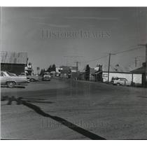 1964 Press Photo The prairie town of Weippe Idaho - spa50714