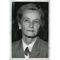 1985 Press Photo Girl Scouts, Mrs Elliot De Forest of Seattle - spa51435