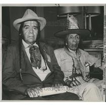 1950 Press Photo Harry Owhi at National Congress of American Indians - spa51877