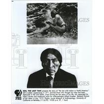 1912 Press Photo Ishi, the Last Yahi Indian in North America - spa52755