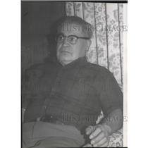 1977 Press Photo Albert U Orr Indian Colville tribal judge - spa52920
