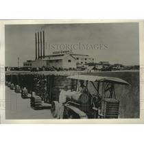 1929 Press Photo Sugar mill of The Southern Sugar Company at Clewiston Florida