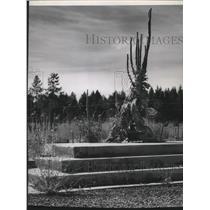 1952 Press Photo Farragut Naval Station in Idaho - spa54277