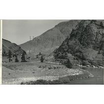 1940 Press Photo Riggins, Idaho - spa55067