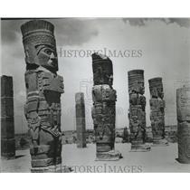 1971 Press Photo Indian Aztec arts in Mexico - spa56136