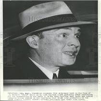 Press Photo J Richard Davis Leaving the Hines Trial - RRY13553