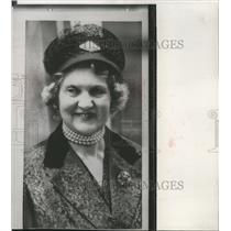 1963 Press Photo Duchess of Northumberland robbed of $280,000 worth of jewels