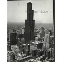 1984 Press Photo Sean Tower Chicago  - spa54151