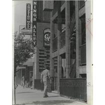 1978 Press Photo Gunnings Alley Shopping Mall at Sandpoint,Idaho - spa55447
