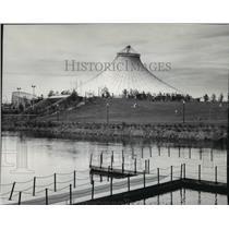 1978 Press Photo Pavilion at Riverfront Park, Spokane, WA - spa56687