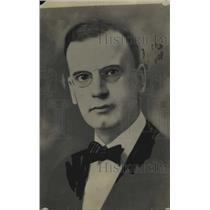 1920 Press Photo LD Heckman Asst Secy of Wharton Motors Co  - neo17603