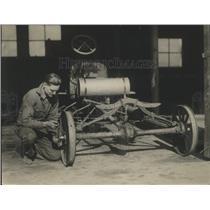 1923 Press Photo Automobile Repairs - nef67270